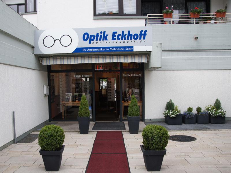 Optik Eckhoff Möhnesee von aussen