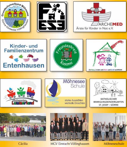 Beteiligte Gruppen Kerzenzauber 2018