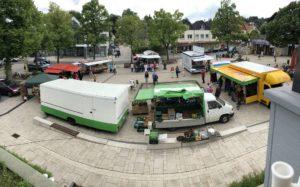 Wochemarkt in Möhnesee Körbecke